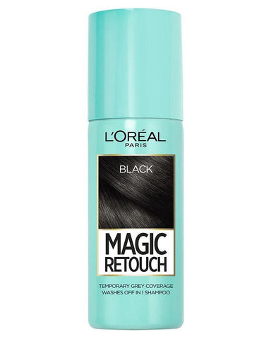 L'Oreal Instant Root Concealer Spray Black 75ml - test-store-for-chase-value