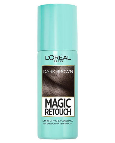 L'Oreal Instant Root Concealer Spray Dark Brown 75ml - test-store-for-chase-value