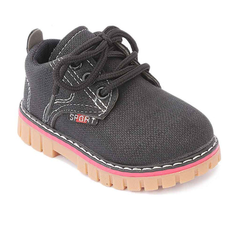 Boys Casual Shoes 963 - Black