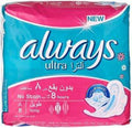 Always Ultra Thin Long 8 pcs - test-store-for-chase-value