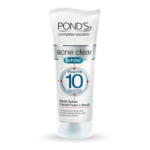 Pond's Acne Clear White Face Wash - 100g - test-store-for-chase-value