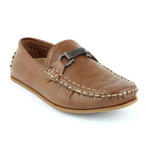 Eminent Loafer For Boys (9840) - Brown - test-store-for-chase-value