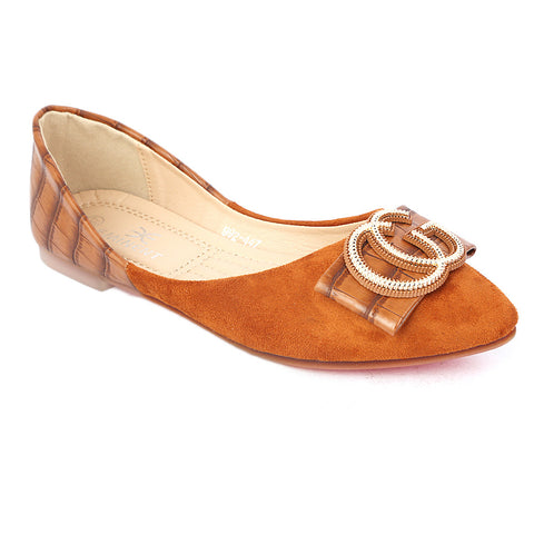 Women's Pumps 992-447 -Camel