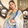 Veena Durrani Embroidered Lawn Suit - 09 - test-store-for-chase-value