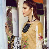 Monsoon Printed Lawn 3 Piece Un-Stitched Suit Vol 1 - 9 A