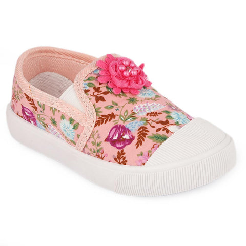 Girls Casual Shoes (A-106) - Pink