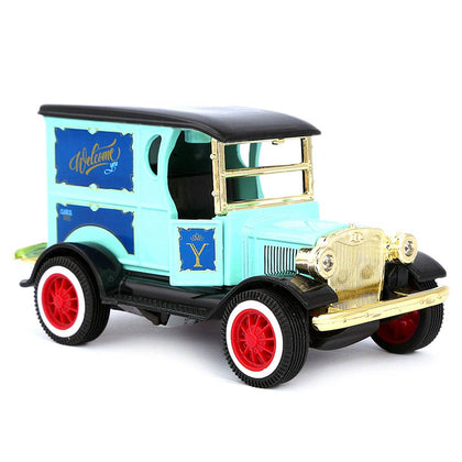 Die Cast Friction Royal Car - Cyan