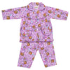Girls Full Sleeves Night Suit - Purple