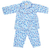 Girls Full Sleeves Night Suit - Blue
