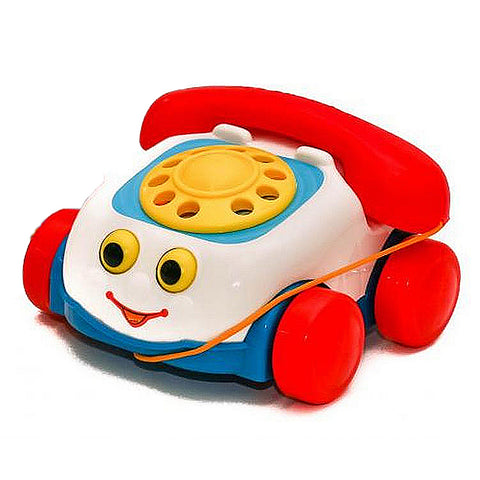 Telephone Set for Kids - White