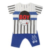 Boys Half Sleeves Suit  32760 - Royal Blue