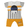 Boys Half Sleeves Suit  32760 - Yellow
