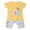 Boys Half Sleeves Suit  32790 - Yellow