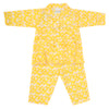 Girls Full Sleeves Night Suit - Yellow