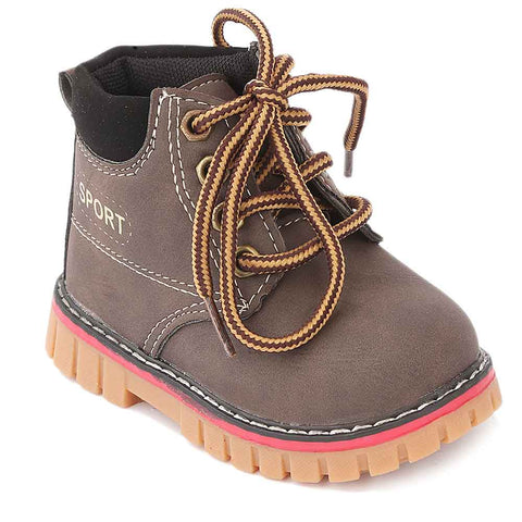Boys Casual Shoes A982 - Brown