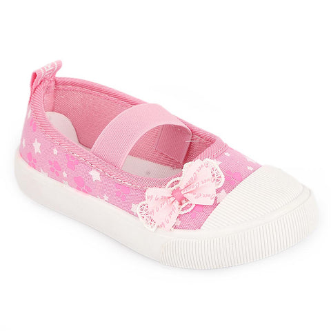 Girls Casual Shoes (AB-25) - Pink