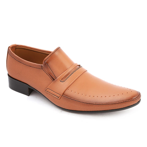 Men's Formal Shoes (AK-5048) - Mustard