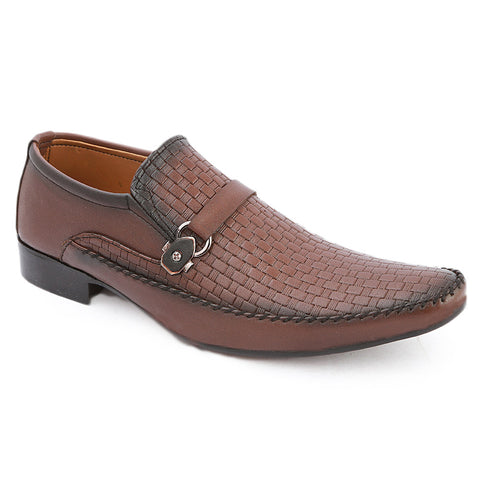 Men's Formal Shoes (AK-5055) - Brown