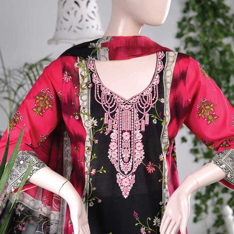 Aurora Embroidered Lawn Un-Stitched Suit - AR4A