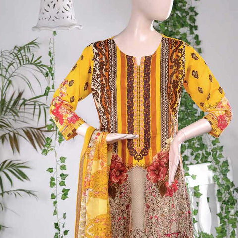 Aurora Embroidered Lawn Un-Stitched Suit - AR5A