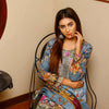 Majestic Floral Digital Printed & Embroidered Lawn 3 Pcs Un-Stitched Suit  AY2236
