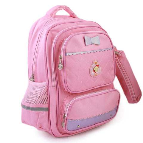 Kids School Bag (903) - Light Pink