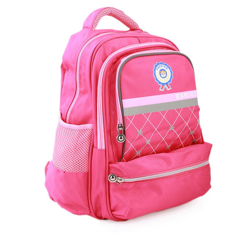 Kids School Bag (1689) - Pink