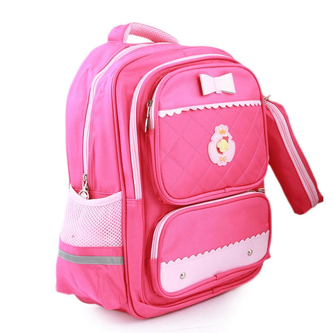 Kids School Bag (903) - Pink
