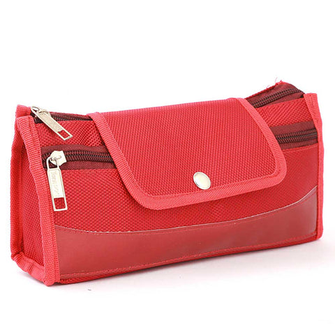 Pencil Pouch (IC-7) - Red
