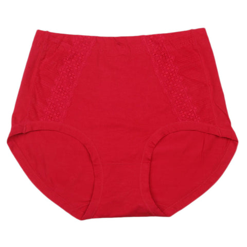 Women's Lace Panty - Red - test-store-for-chase-value