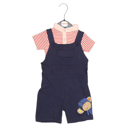 Eminent Newborn Romper - Navy Blue - test-store-for-chase-value