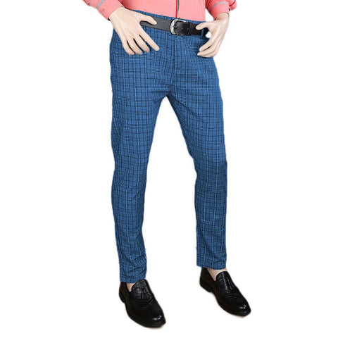 Men's Cotton Chino Pant - Blue