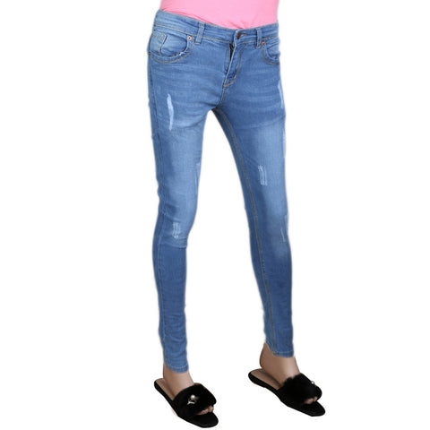 Women's Denim Pant - Blue