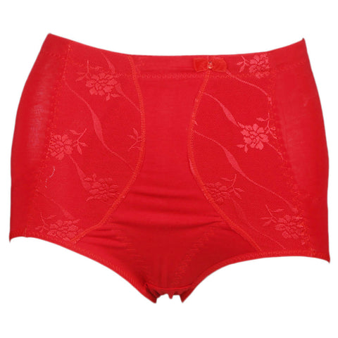 Women's Corset Panty - Red