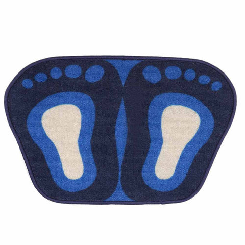 Printed Door Mat 15 x 23 - Blue