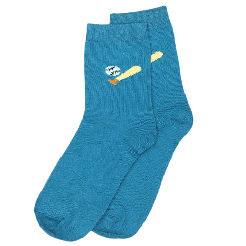 Boys Socks - Sea Green