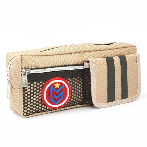 Pencil Pouch (IC-8) - Beige