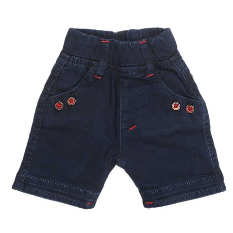 Newborn Boys Short - Dark Blue - test-store-for-chase-value