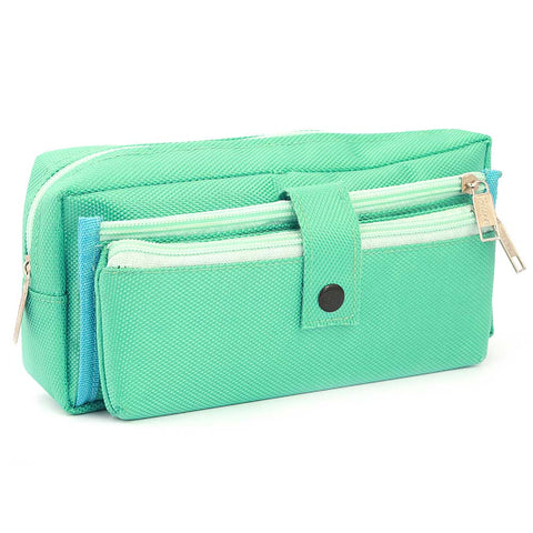Pencil Pouch (IC-15) - Cyan