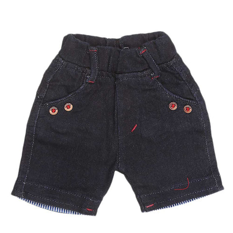 Newborn Boys Short - Navy Blue - test-store-for-chase-value
