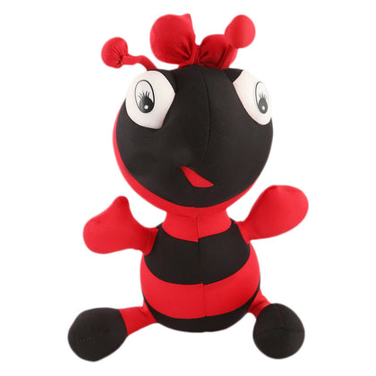 Stuffed Soft Been Ant Toy - Red