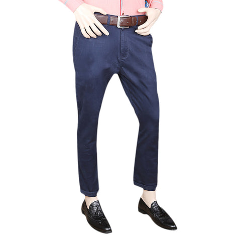 Eminent Cotton Chino Pant For Men - Navy Blue