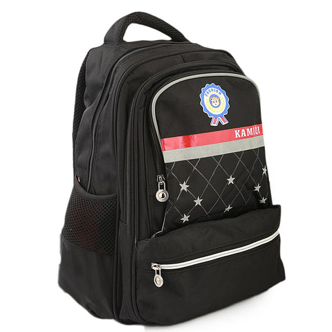 Kids School Bag (1689) - Black