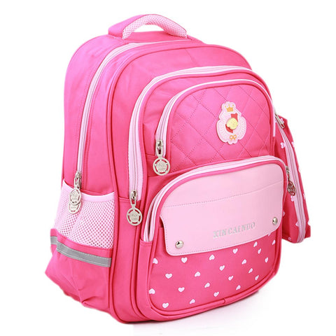 Kids School Bag (901) - Pink