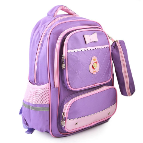 Kids School Bag (903) - Purple