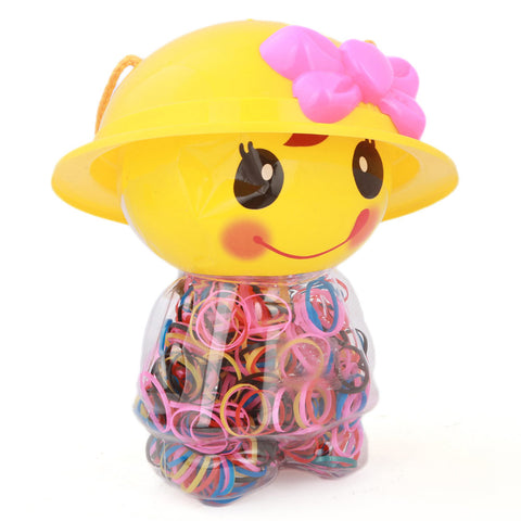 Kids Loom Band Jar - Yellow