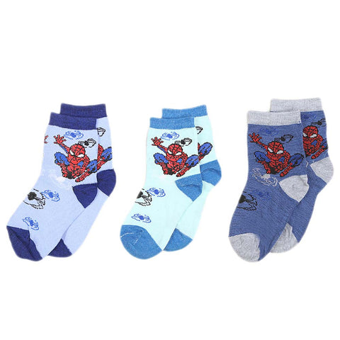 Boys Socks Pack Of 3 - Multi