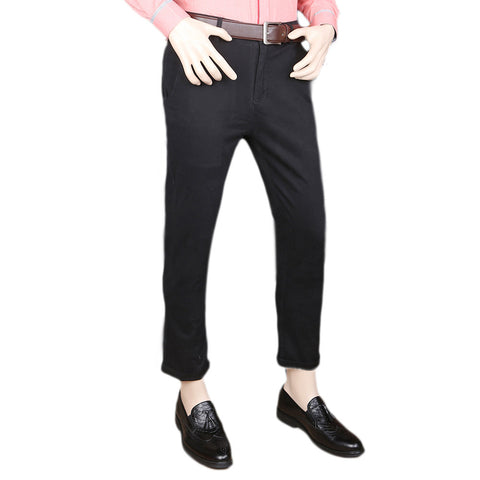 Eminent Cotton Chino Pant For Men - Black
