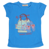 Girls Half Sleeves T-Shirt 03 - Blue
