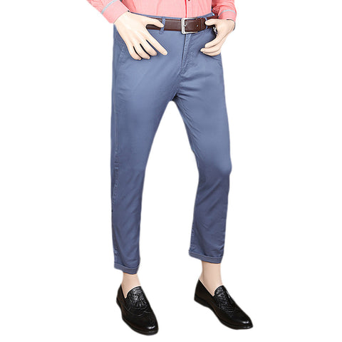 Eminent Cotton Chino Pant For Men - Blue